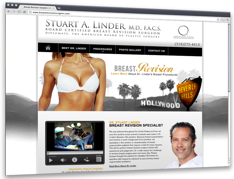 Breast Revision Website