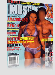 Musclemen Magazine Cover Hottest Swimsuit Sexy Wet & Wild