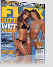 Flex Magazine Hot Wet Women Magazine Cover