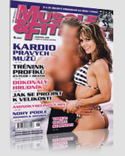 Muscle & Fitness Kardio Pravych Muzu Trenink Profiku & Dokonaly Hrudnik