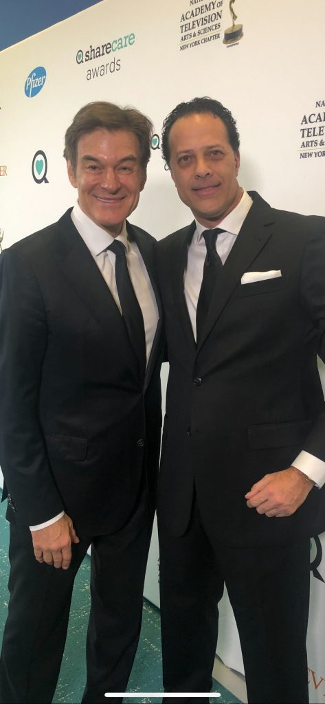 Dr. Linder and Dr. Oz at Sharecare Event in New York
